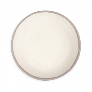 Q Squared Potter Stone Melaboo™ Dinner Plate Set Of 4