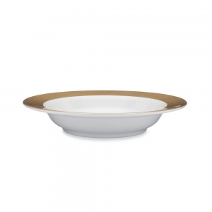 Moonbeam Ring Melamine Pasta Bowl
