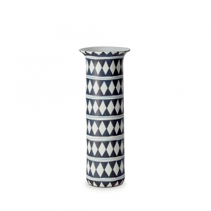 Tribal Diamond Vase