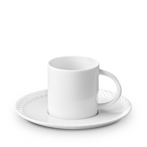 Corde Espresso Cup and Saucer