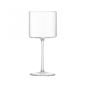 LSA International Otis Red Wine Glass Clear Set of 4