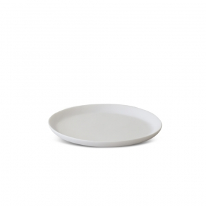 Tina Frey Medium Round Sculpted Tray White