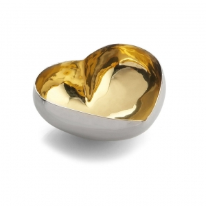 Michael Aram Heart Dish Gold