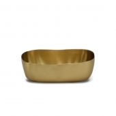 Brushed Brass Soap Dish