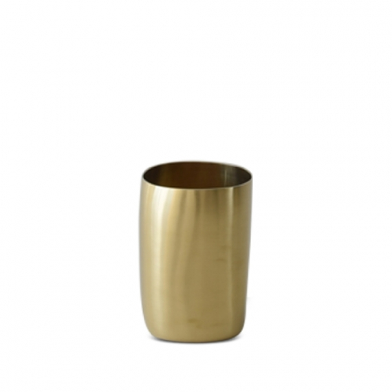 Brushed Brass Cup