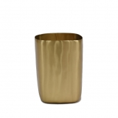 Brushed Brass Tall Vessel