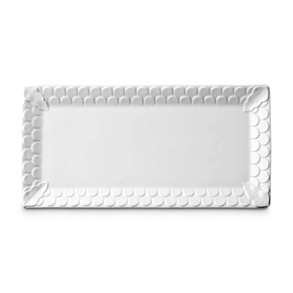 Aegean Rectangular Platter - White