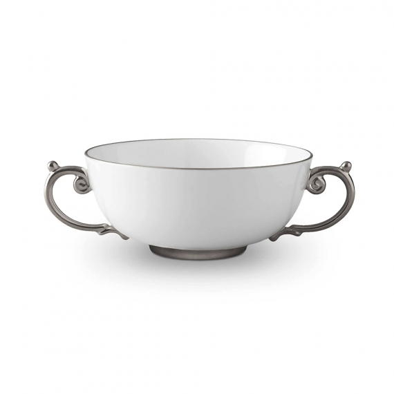 Aegean Soup Bowl - SilverPlatinum
