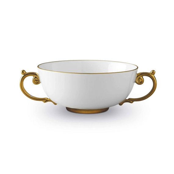 Aegean Soup Bowl - Gold