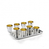 Scacciapensieri 8 Shot Glasses with Tray