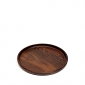 Pascale Naessens Tray Pure Wood Round