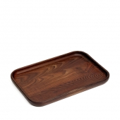 Pascale Naessens Tray Pure Wood Rectangular