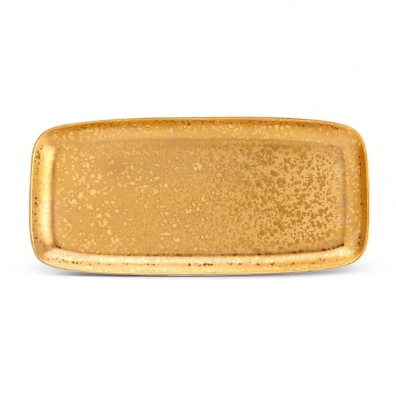 Alchimie Rectangular Platter - Large - Gold