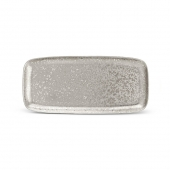 L'Objet Alchimie Rectangular Platter Medium Platinum