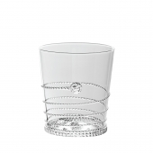 Juliska Amalia Double Old Fashioned Set of 2 Clear