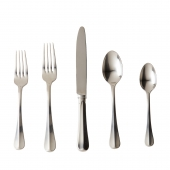 Bistro Bright Satin 5pc Place Setting
