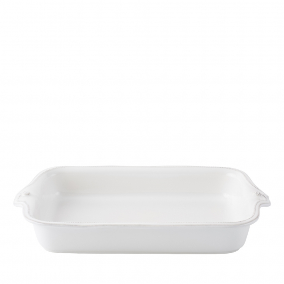 Berry & Thread Whitewash Rectangular Baker
