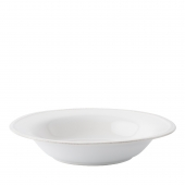 Juliska Berry & Thread Whitewash Rimmed Soup Bowl Set of 4 White