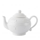 Juliska Berry & Thread Whitewash Teapot White