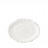 Juliska Berry & Thread Whitewash Sauce Boat Stand White