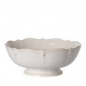 Juliska Berry & Thread Whitewash Footed Fruit Bowl White