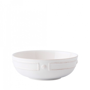 Berry & Thread French Panel Whitewash Coupe Pasta Bowl