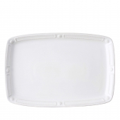 Juliska Berry & Thread French Panel Whitewash Platter White