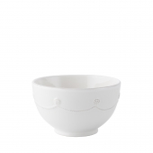 Juliska Berry & Thread wash Cereal and Ice Cream Bowl Set of 4 White