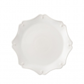 Juliska Berry & Thread Whitewash Scallop Charger Plate White