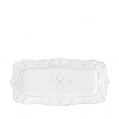 Juliska Jardins Du Monde Whitewash Hostess Tray Set of 2 White