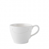 Juliska Berry & Thread Whitewash Tea and Coffee Cup Set of 4 White