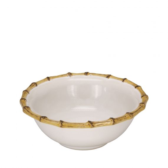 Classic Bamboo Natural Cereal / Ice Cream Bowl Set of 4