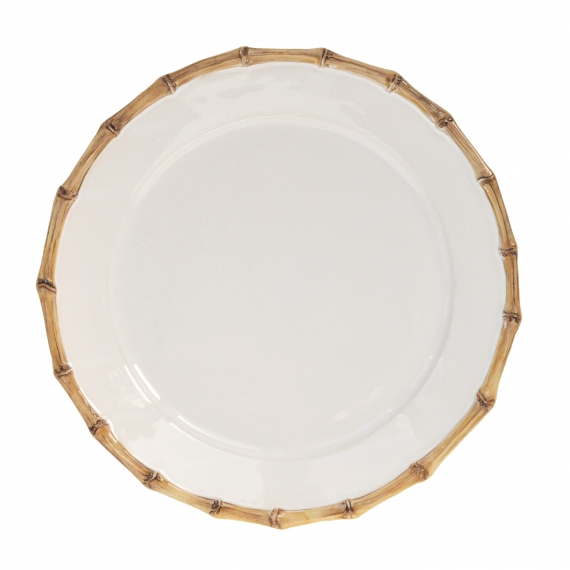 Classic Bamboo Natural Charger Plate