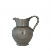 Juliska Pewter Stoneware Creamer Set of 2 Gray