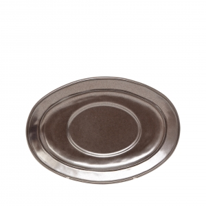Pewter Stoneware Sauce Boat Stand