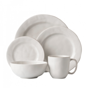 Juliska Puro Whitewash 5pc Setting White