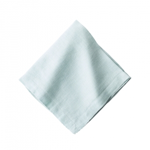 Juliska Heirloom Linen Ice Blue Napkin Set of 4 Blue