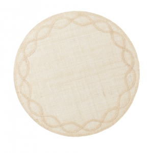 Juliska Tuileries Garden Natural Placemat Set of 4 Beige