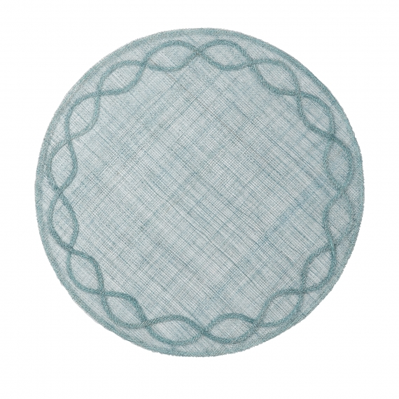 Tuileries Garden Ice Blue Placemat Set of 4