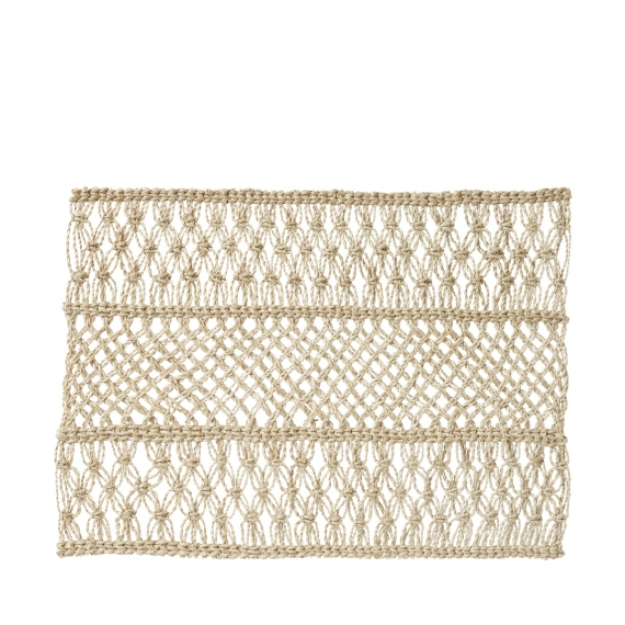 Macrame Natural Placemat Set of 4