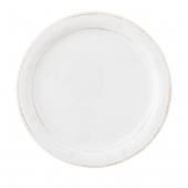 Juliska Berry and Thread Melamine wash Dinner Plate Set of 8 White