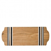 Juliska Stone Stripe Large Serving Board Wood