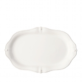 Juliska Berry & Thread Whitewash Platter White