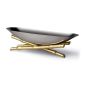 L'Objet Bambou Serving Boat Large
