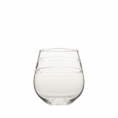 Juliska Isabella Acrylic Stemless Wine Glass Set of 8 Clear
