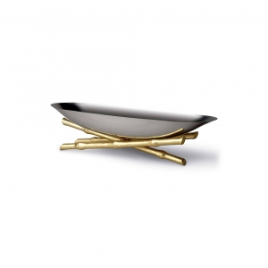 L'Objet Bambou Serving Boat Small
