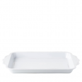 Juliska Berry & Thread Melamine Whitewash Handled Tray Set of 4 White