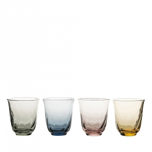 Juliska Vienne Small Tumbler Set Of 4 Multi