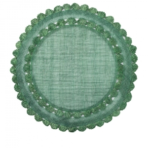 Juliska Isadora Evergreen Placemat Set of 4 Green