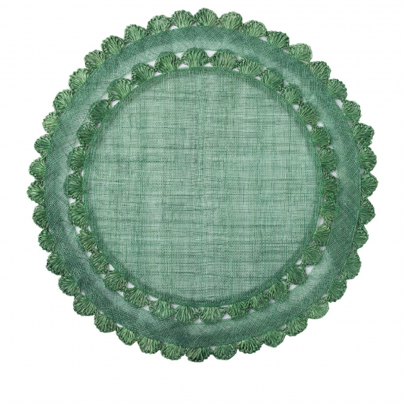 Isadora Evergreen Placemat Set of 4